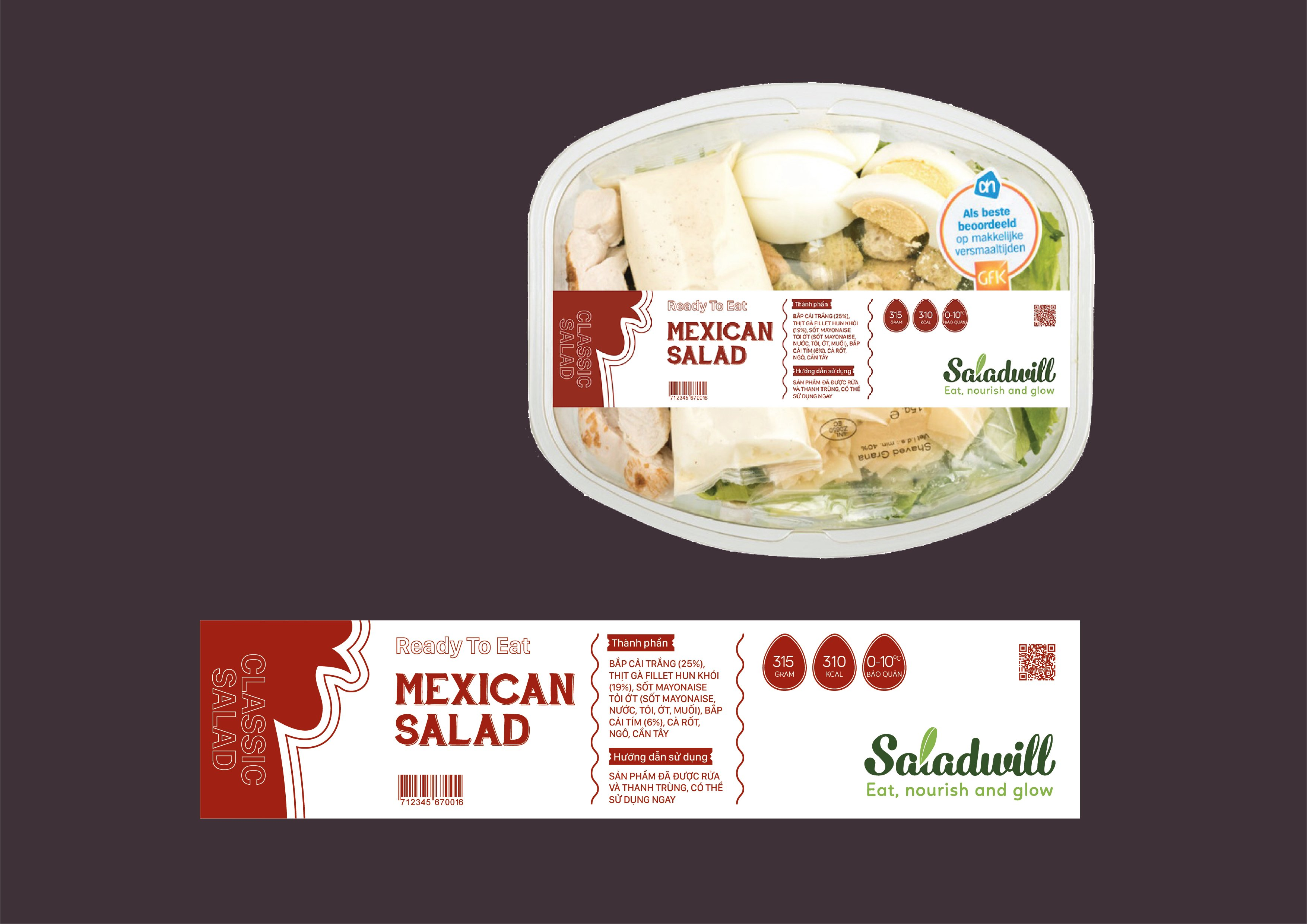 Ready To Eat - Mexi can salad mini