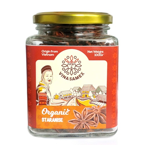 Star Anise Jar 100gr