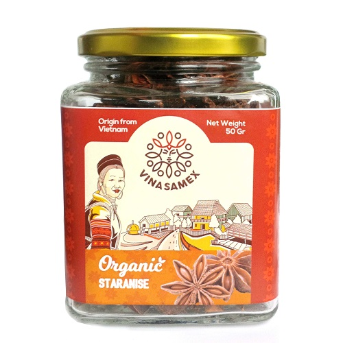 Star Anise Jar 50gr