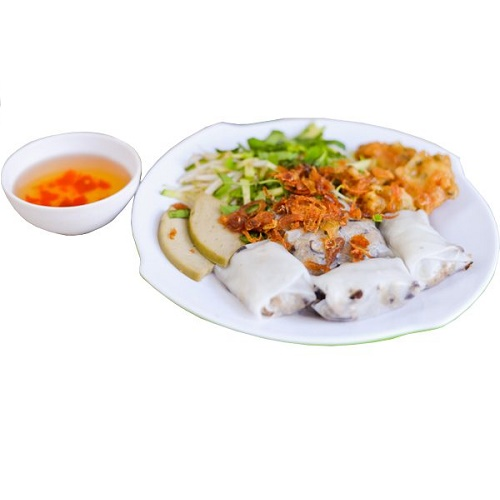 Steamed Rolled Rice Pancake