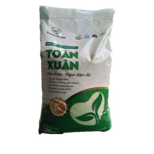 Gạo sạch Toản Xuân 20 kg