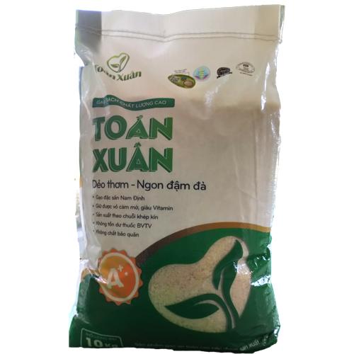 Gạo sạch Toản Xuân 10 kg
