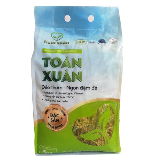 Gạo sạch Toản Xuân 5kg