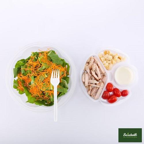 Ready To Eat - Salad gà xông khói