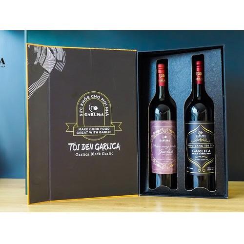 Rượu vang tỏi đen Garlica
