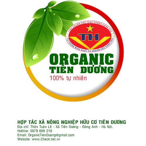 Kết quả hình ảnh cho logo organic tiên dương